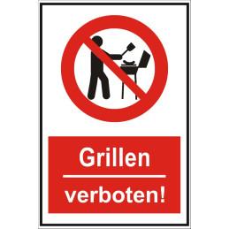 """Verbotsschild """"Grillen verboten"""""""