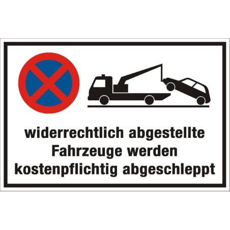 """Verbotsschild """"Parken verboten"""""""
