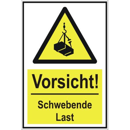 """Warnschild """"Schwebende Last"""""""