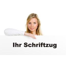 """Folienschriftzug """"Eigner Text"""""""