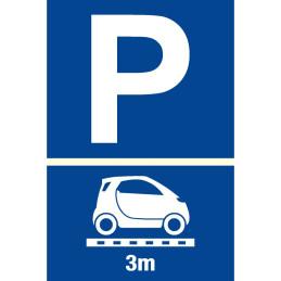 "Parkplatzschild ""Smart"""