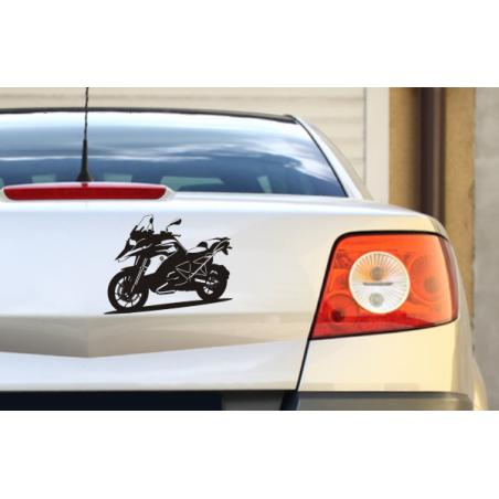 "Autoaufkleber ""Motorrad BMW"""