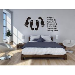 Wandtatto fürs Schlafzimmer - Das Schlafzimmer Wandtattoo