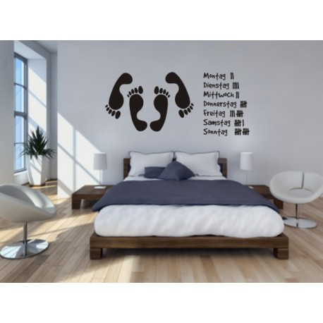 wandtatto f rs schlafzimmer das schlafzimmer wandtattoo. Black Bedroom Furniture Sets. Home Design Ideas