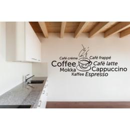 "Wandtattoo ""Cappuccino"""