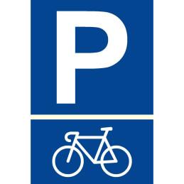 "Parkplatzschild ""Fahrrad"""