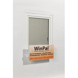 Fenster-Halterung für Schilder
