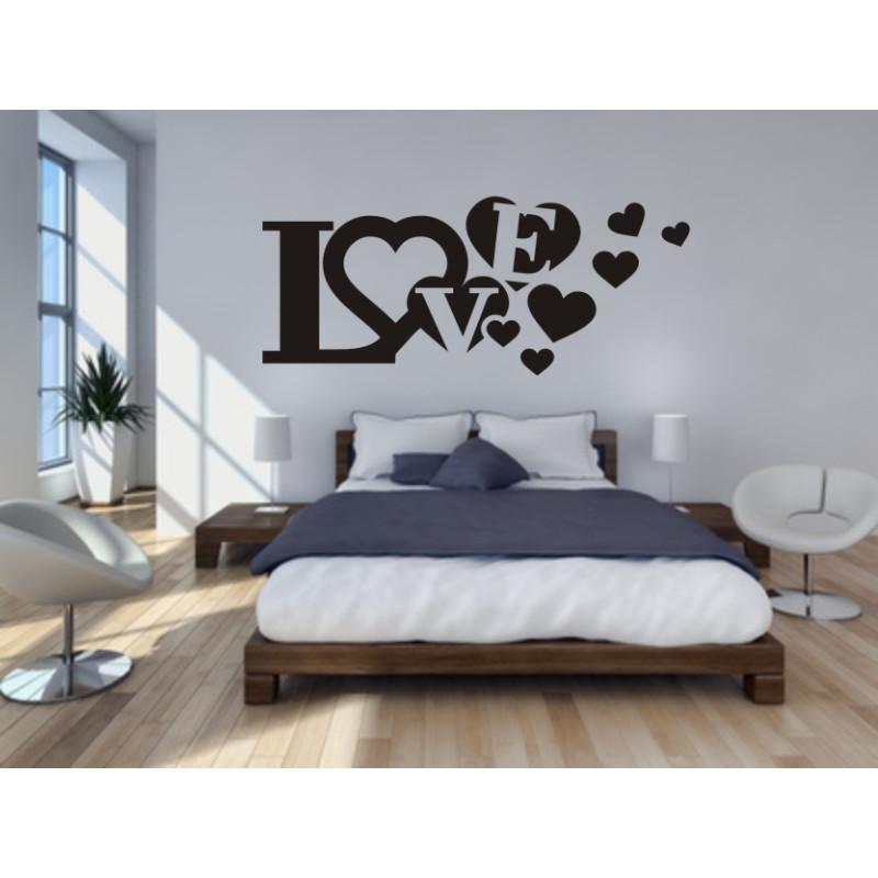 Wandtattoo fürs Schlafzimmer - Das Wandtattoo \