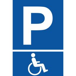 """Parkplatzschild """"Rollstuhlfahrer"""""""