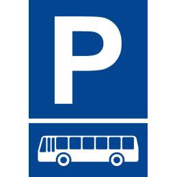 """Parkplatzschild """"Bus"""""""