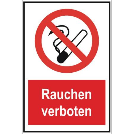 """Verbotsschild """"Rauchen verboten"""""""