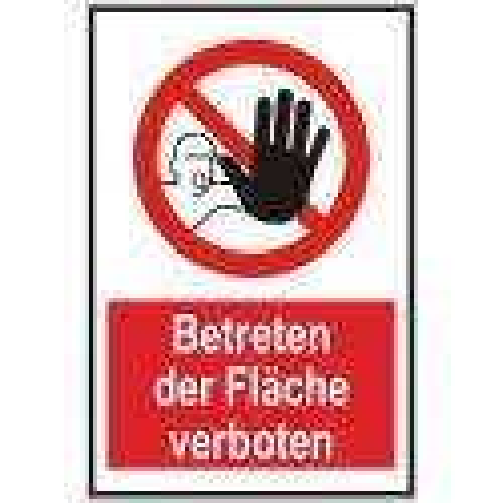 """Verbotsschild """"Betreten verboten"""""""